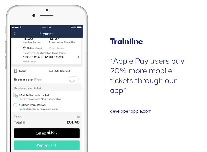 In-App Payments Apple Pay