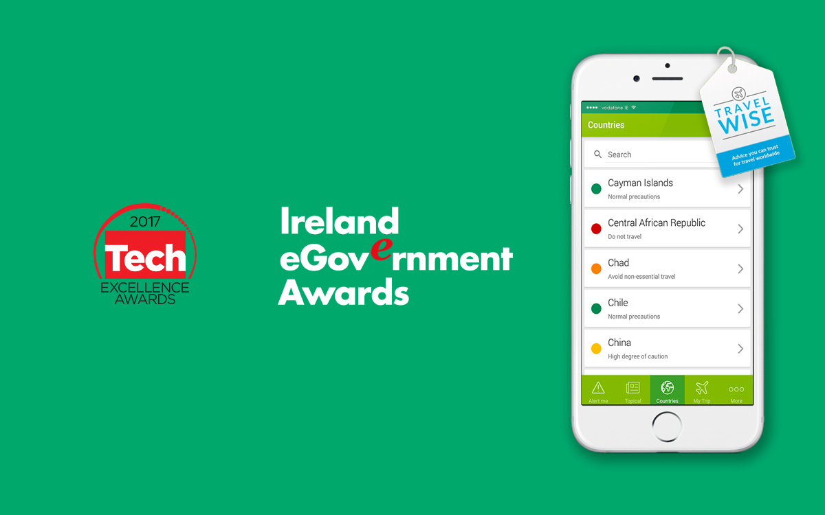 TravelWise App Shortlisted for Two Awards