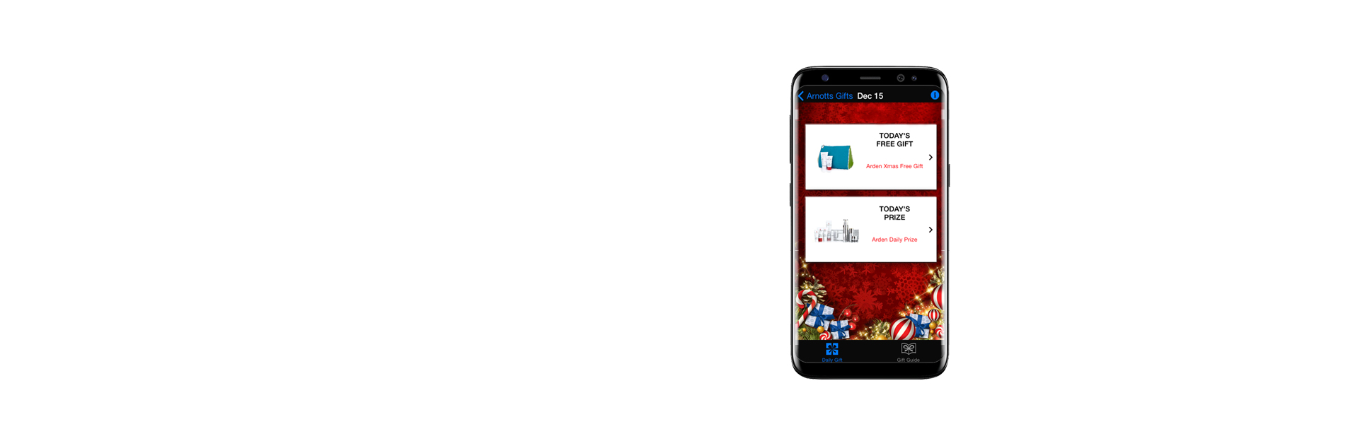 Christmas Gifts App for Arnotts — Puca